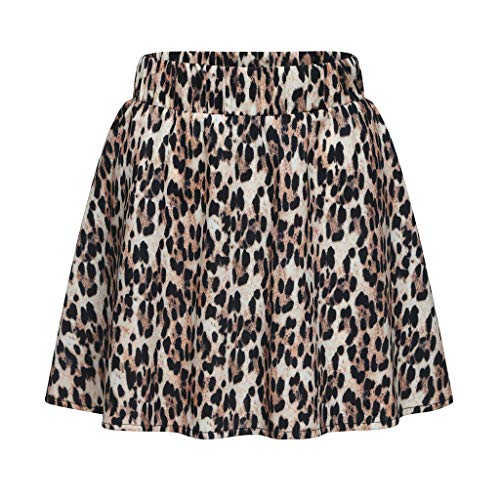 Tail Bunny Kostüm Fairy - Sommer Frauen Leopard Printed Rock Hohe Taille Midi Rock Mode Party Cocktail ballkleid