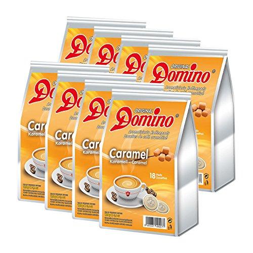 8x DOMINO Kaffeepads Karamell (á 18 Pads)