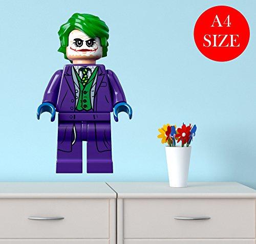 A4-LEGO-JOKER-nursery-bedroom-WALLART-BOY-GIRL-sticker-laptop-CAR-vinyl-BATMAN