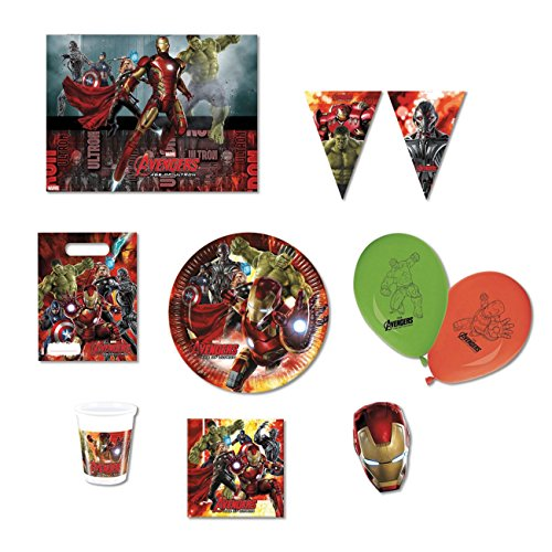 Age of Ultron Avengers Party Supplies Kit (Ice Supplies Age Party)