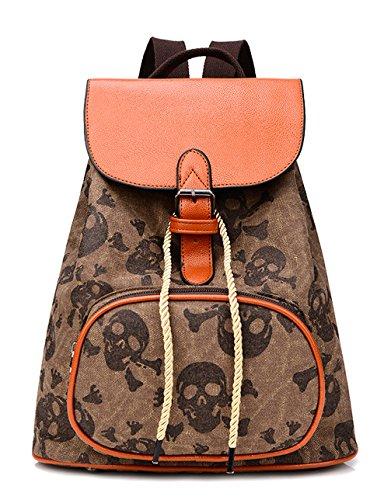 Longzibog Dual verstellbare Schultergurte und Hängeschlaufenband 2016 Neue Damen accessories hohe Qualität Einfache Tasche Schultertasche Freizeitrucksack Tasche Rucksäcke Café