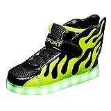 Aidonger Kinder LED Leuchtend Schuhe Unisex 7 Farbe...