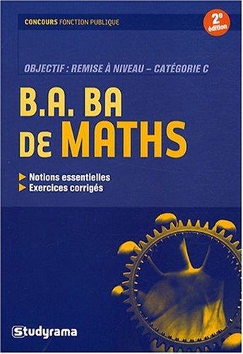 B.A BA de maths
