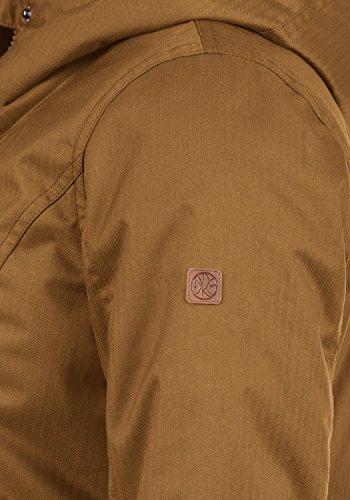 DESIRES Bella Damen Übergangsmantel Parka Jacke Mit Kapuze, Größe:S, Farbe:Cinnamon (5056) - 5