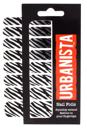 Urbanista Foils pour ongles Motif zébré
