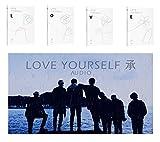 BTS 5th Mini Album LOVE YOURSELF Her BANGTAN BOYS 4CD [ L+O+V+E ] Album Set + 4 Official Posters
