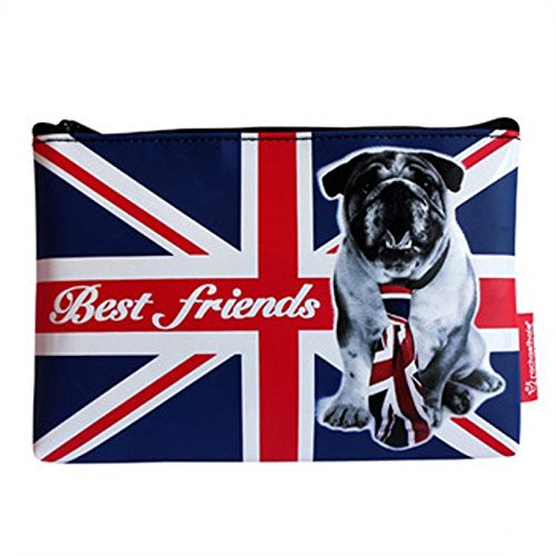 Pochette Canvas London Dog