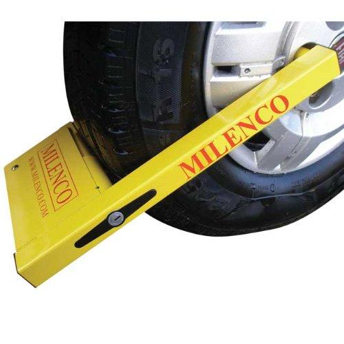 Milenco 2745 Kompakt-Parkkralle (Anhänger-reifen 225)