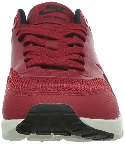 Nike Donna W Air Max 1 Ultra Essentials scarpe sportive Rosso (Rojo (Gym Red / Gym Red-Black-Sail))