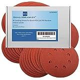 Bond Abrasives Schleifscheiben, 40 Stück, für Bosch PEX 220/300 und andere Schwingschleifer, Körnung 120(fein)