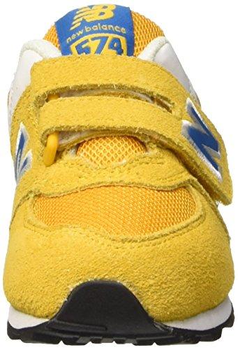 New Balance Nbkg574yni, Scarpe Standing Baby Bambino Giallo (Yellow Blue)