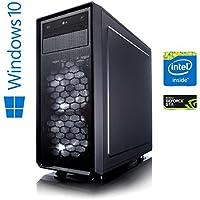 Memory PC High End Gaming Computer Intel Coffee Lake i7-8700K 6x 3.7 GHz | ASUS Prime Z370-P | 16 GB DDR4 RAM | 250 GB SSD + 1000 GB HDD | NVIDIA GeForce GTX 1060 6GB 4K | Gamer Workstation Gaming-PC