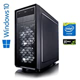 Memory PC High End Gaming Computer Intel PC Core i7-7700 4x 3.6 GHz | Alpenföhn Ben Nevis | 32 GB DDR4 2133Mhz | 480 GB SSD + 2 TB HDD | NVIDIA Geforce GTX 1080 8GB 4K | be Quiet! Pure Power 10 600W Netzteil extrem leise | Gamer PC Workstation Gaming-PC