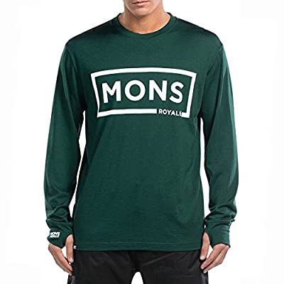 Mons Royale Original LS Lime Grey Black