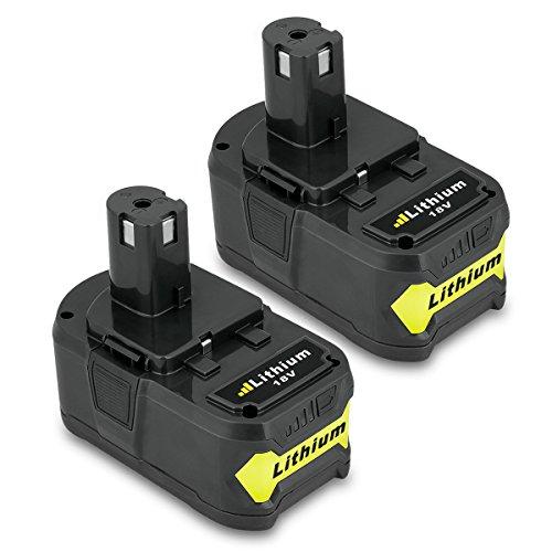 deux batteries pour Ryobi