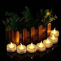 I lumini a LED Homemory offrono un modo innovativo per illuminare la casa. - Illuminate un camino o una libreria con un po' di candele a LED color bianco caldo in portacandele votivi. - Distribuite alcune candele a LED senza fiamma per la vos...