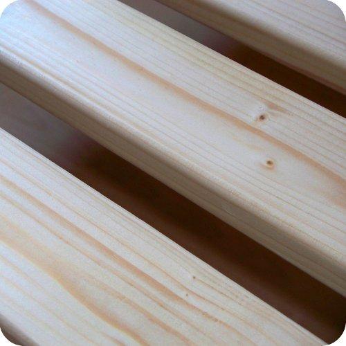 TUGA-Holztech 20mm Rollrost Lattenrost 100x220cm bis 200KG Qualitätsarbeit aus Deutschland unbehandelt frei von Chemie Naturprodukt