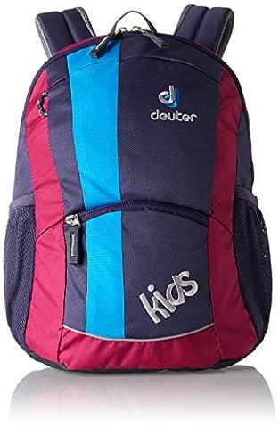 Deuter Unisex - Kinder Rucksack Kids, blueberry, 36 x 22 x 18 cm, 12 Liter, 3601350130