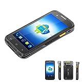 Rugged Handheld Terminal PDA, Honeywell Barcode Scanner, Android, 4G, WiFi, Bluetooth 4.0, GPS, NFC, Ladeschale, 8MP Kamera