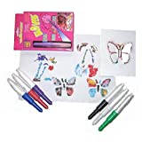 Aim & Blow Magic Color Pens to Write, Paint, Draw & Spray on Objects for Mind Blowing Effects for Kids by eRunners