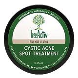 Treeactiv Adénomatoïde anti-acné, Meilleur Plus de résistance Action rapide Formule pour Desservir l'acné sévère à partir du visage et du corps, Suffisamment douce pour les peaux sensibles, adultes, adolescents, hommes, femmes (7,1gram)