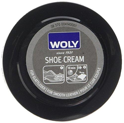Woly Shoe Shine Sponge, Zapatos y Bolsos Unisex adulto, Negro (Black), Talla Unica EU