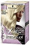 Schwarzkopf Color Expert Permanent Hair Dye, 10.2 Light Cool Blonde, 1 application