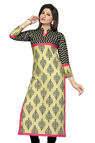 SATRAT's Women Girls Casual Regular 48 Inch Long Below Knee Pakistani Style...