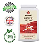 Best Paw Nutrition - Omega 3 6 9 cápsulas de Aceite de Pescado para Perros, Gatos y Mascotas - Premium 100% Natural Fish Oil Supplement For Dogs, Cats and Pets