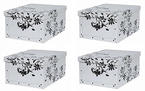 4 Stück Deko Karton der Serie