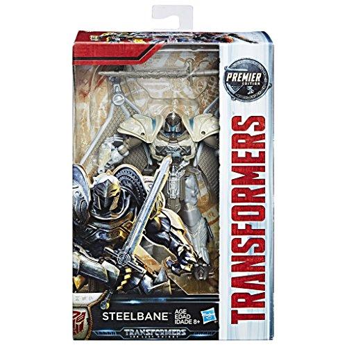 Hasbro Transformers The Last Knight Premier Edition Deluxe Class Steelbane