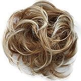 Prettyshop Haarteil, lockiger Dutt, Blond