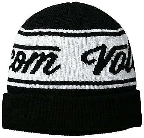Volcom Sign Fine Men's Full Zip Hooded Sweatshirt Black