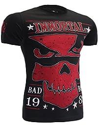 T-Shirt Bad Boy Immortal-xxl MMA BJJ Fitness Grappling Camiseta