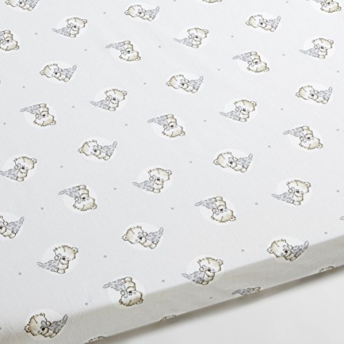 Drap Housse pour berceau bébé Teddy - Ovale, 50x80