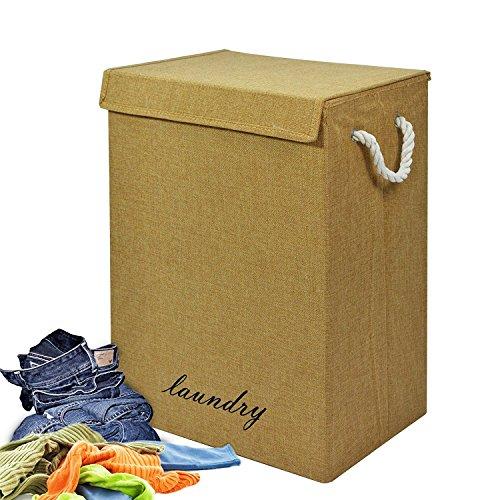 Gran cesta de lavandería lavado almacenamiento de ropa plegable cesta de basura de cesta arena Fusion (TM)