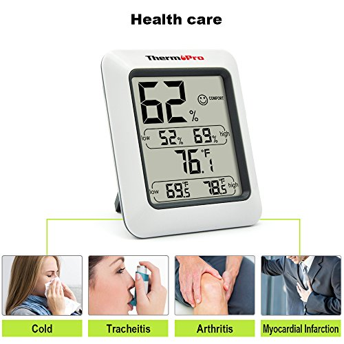 ThermoPro TP50 digitales Thermo-Hygrometer - 4