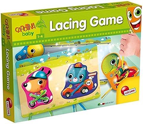 Lisciani - 53353 - Jeux Educatifs - Jeu De Lacets