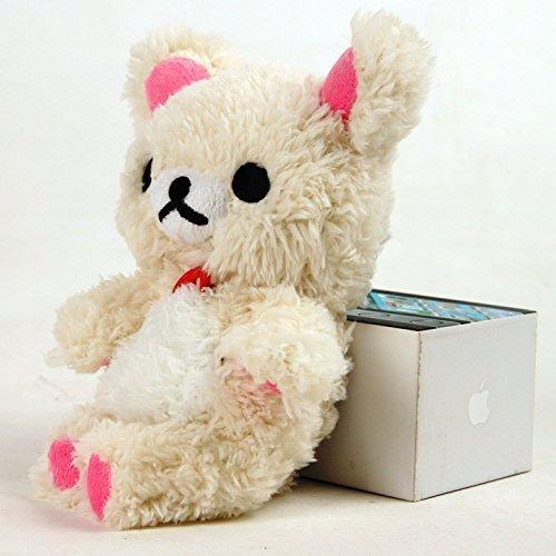 inspirationc® Soft Baumwolle weiß 3D Cute Design Toy Bär Schutzhülle für iPhone 5/5S/64,7/65,5/Samsung S3/Samsung S4 iphone 6 4.7
