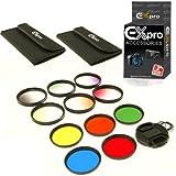 Ex-Pro 72mm Diplômé et Solid Colour Filter Set 11 Piece Kit avec étui
