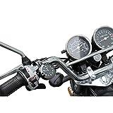 Motorraduhr Lenker Uhr schwarz Motorräder Uhren