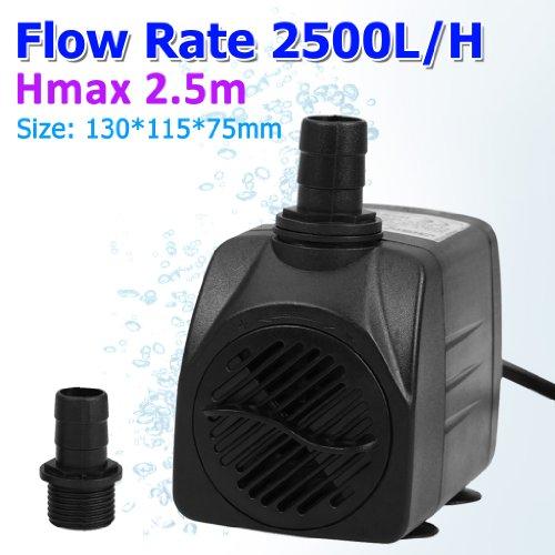 Aquariumpumpe Wasserpumpe Tauchpumpe Pumpe bis zu 2500L/H für Brunnen Aquarium und Modellbau