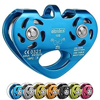 ALPIDEX Tandem Pulley POWER 2.0, Colour:blue