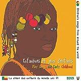 Benin Volume 2-Enfantines et Jeux d'Enfants
