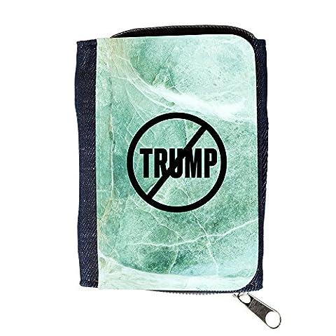 le portefeuille de grands luxe femmes avec beaucoup de compartiments // Q04110537 Never Trump marbre de jade // Purse Wallet