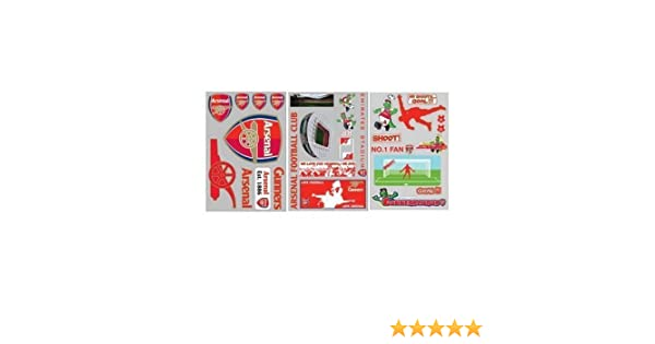 518ffb32a Arsenal Removeable Self-Adhesive Wall Stickers  Amazon.co.uk  Kitchen   Home