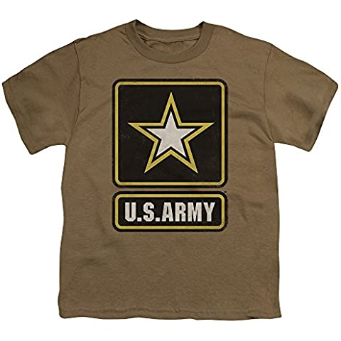 Army-Maglietta con Logo grande, da