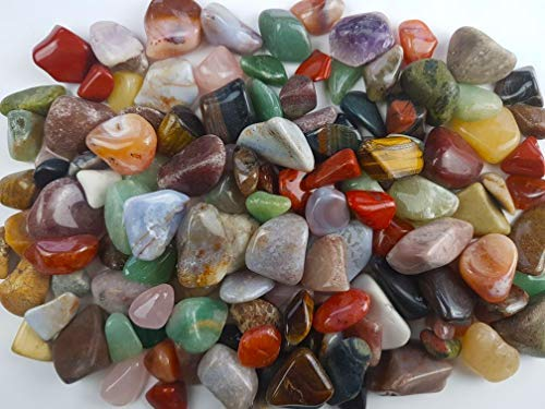 Pietre burattate - grande selezione/naturali/pietre preziose - 1000gr