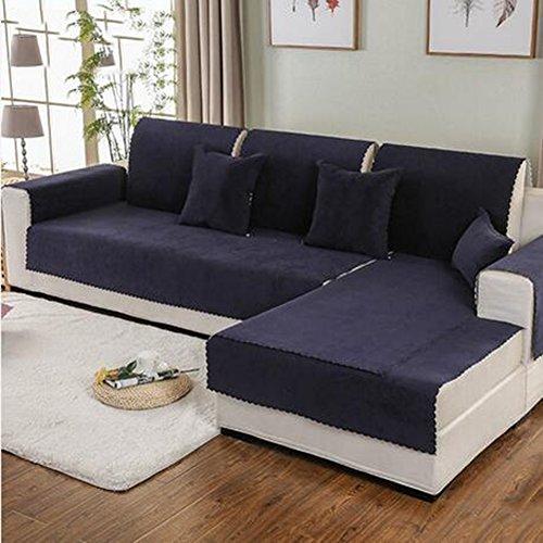 L&zr coprisedili impermeabili, fodere per fodere, copriletto reversibile per mobili imbottiti, copertura anti-scivolo migliorata con particelle antiscivolo, scudo da divano in poliestere,90*210cm