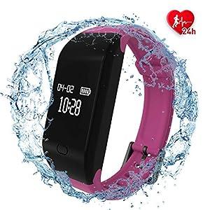 Fitpolo Pulsera de Actividad,Reloj Inteligente para Hombre y Mujer, IP68 Impermeable Reloj Deportivo con Rtmo Cardíaco… 13